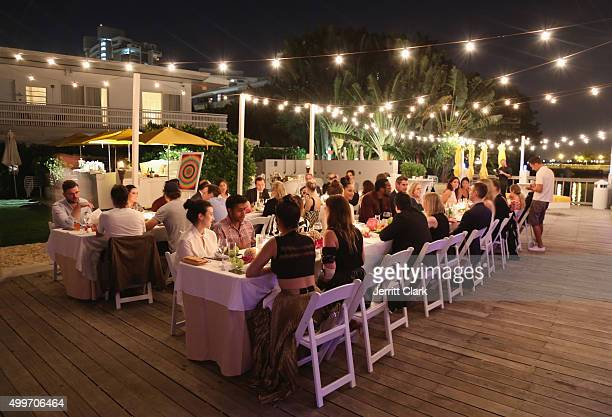 General View At Bloomberg Pursuits Dinner The Standard Hotel Spa On December 2 2017 In