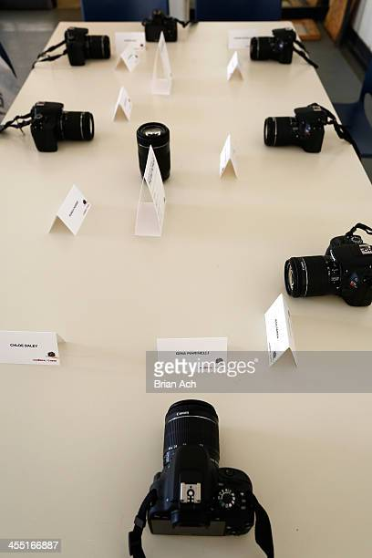 General view at Canon's The Big Moment with the world's smallest and lightest DSLR with the New York City Ballet at Lincoln Center for the Performing...