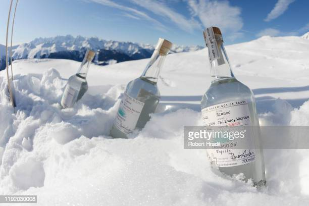 General view at Casamigos in the Snow on December 04 2019 in Verbier Switzerland