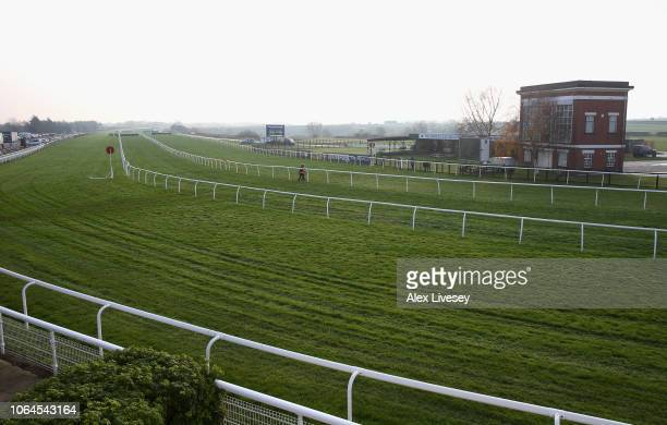 A general view at Catterick Racecourse is seen on November 23 2018 in Catterick England