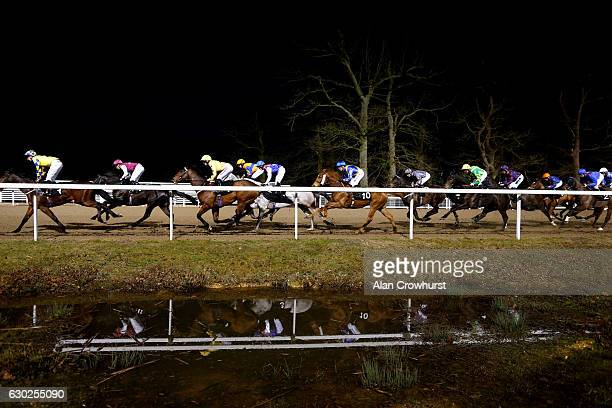 A general view at Chelmsford racecourse on December 19 2016 in Chelmsford England