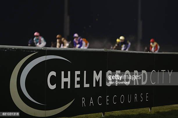 A general view at Chelmsford racecourse on January 5 2017 in Chelmsford England