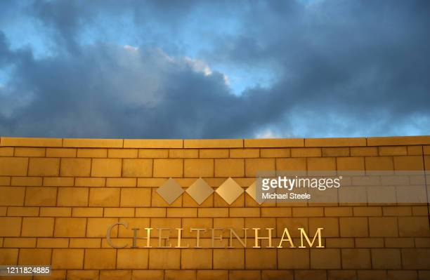 A general view at Cheltenham Racecourse on March 11 2020 in Cheltenham England