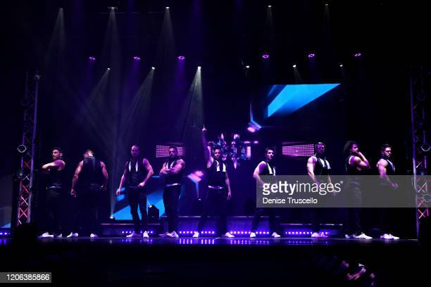 A general view at Chippendales at Rio AllSuite Hotel Casino on February 14 2020 in Las Vegas Nevada