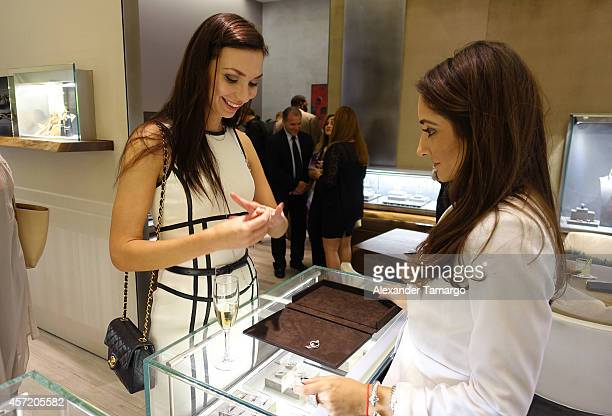 General view at David Yurman InStore Shopping Event Hosted by Randy Starks To Benefit The Florida Breast Cancer Foundation on October 13 2014 in...