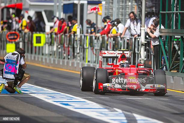 A general view at day 3 of the 2015 Australian Formula 1 Grand Prix on March 14 2015 in Melbourne Australia Chris Putnam / Barcroft Media