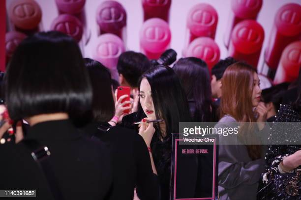 A general view at Dior Addict Stellar Shine launch at Layers 57 on April 04 2019 in Seoul South Korea