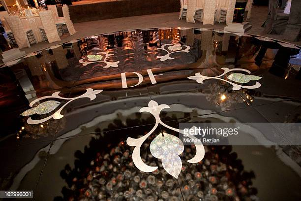 A general view at Fletcher Jones III And Dalene Kurtis Wedding at Beverly Hills Hotel on March 2 2013 in Beverly Hills California