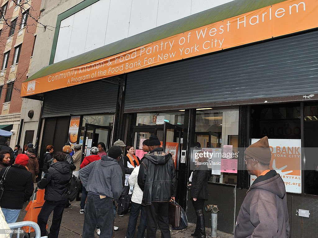 A General View At Food Bank For New York Citys Community