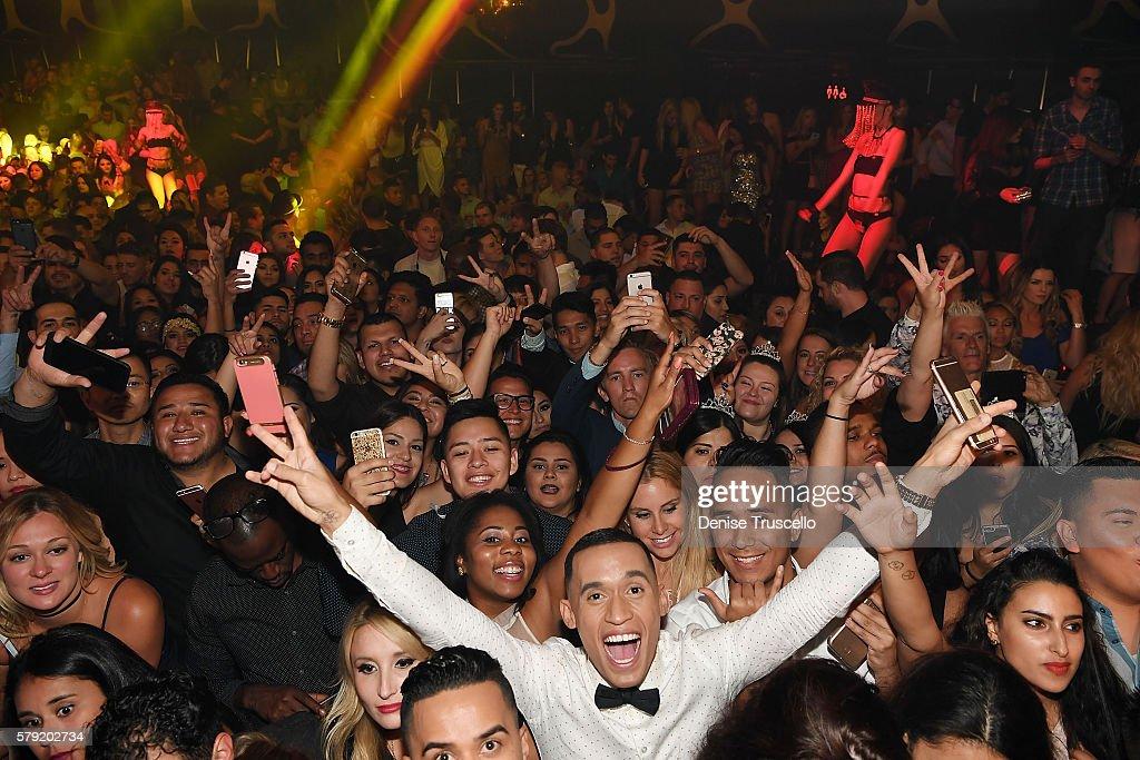 A general view at Hakkasan Las Vegas Nightclub inside MGM Grand on July 22, 2016 in Las Vegas, Nevada.
