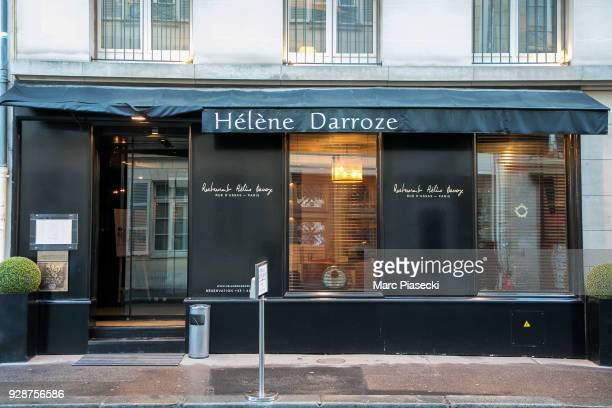 A general view at Helene Darroze restaurant on March 7 2018 in Paris France