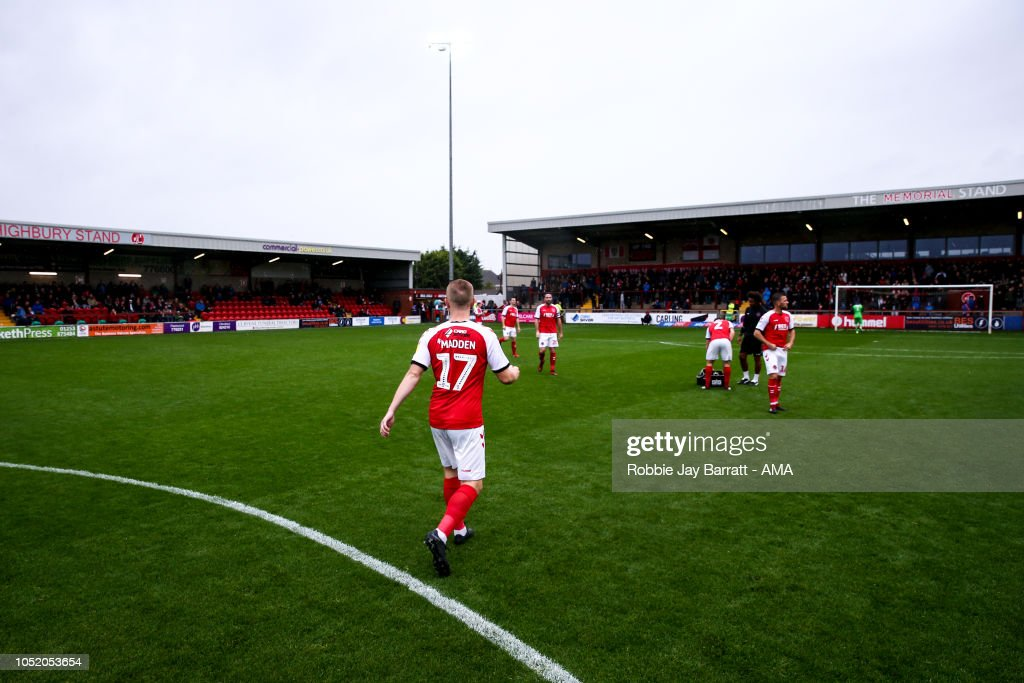 Fleetwood Town v Shrewsbury Town - Sky Bet League One : News Photo