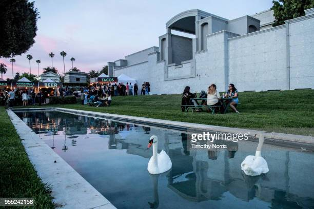 General view at Hollywood Forever on May 5 2018 in Hollywood California