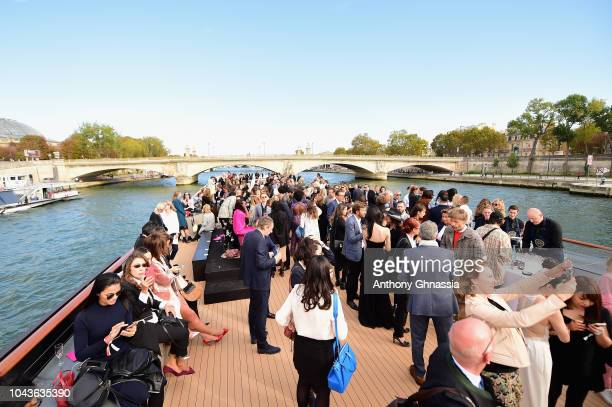 General view at Le Defile L'Oreal Paris as part of Paris Fashion Week Womenswear Spring/Summer 2019 on September 30 2018 in Paris France
