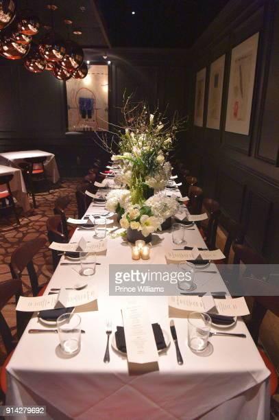 General View at Marlo Hampton Birthday Dinner Celebration at Kaisers Restuarant on February 3 2018 in Sandy Springs Georgia
