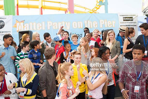 A general view at Mattel Party On The Pier Benefiting Mattel Children's Hospital UCLA Inside at Pacific Park at Santa Monica Pier on October 21 2012...