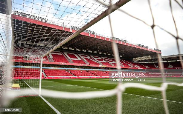 General View at Nottingham Forest at City Ground on April 13 2019 in Nottingham England