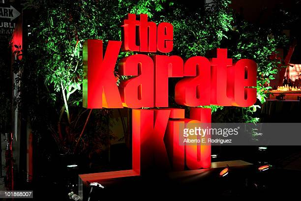 General view at premiere of Columbia Pictures' The Karate Kid after party held at Mann Village Theatre on June 7 2010 in Westwood California