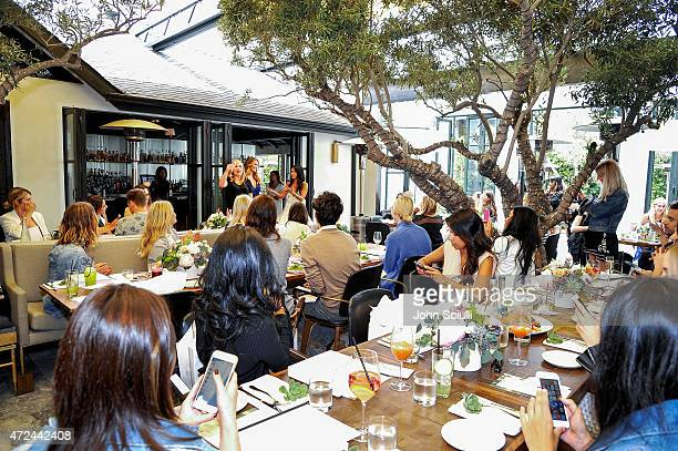 A general view at RAYE shoe launch event hosted by Chrissy Teigen and Hillary Kerr held At Ysabel on May 7 2015 in West Hollywood California