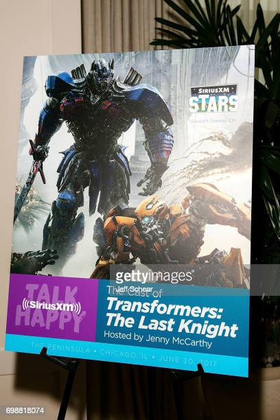 A general view at SiriusXM's 'Town Hall' With the Cast of 'Transformers The Last Knight' Town Hall Hosted By SiriusXM's Jenny McCarthy at Peninsula...