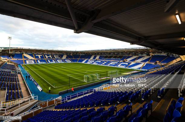 General View at St Andrews Trillion Trophy Stadium home of Birmingham City during the Sky Bet Championship match between Birmingham City and...