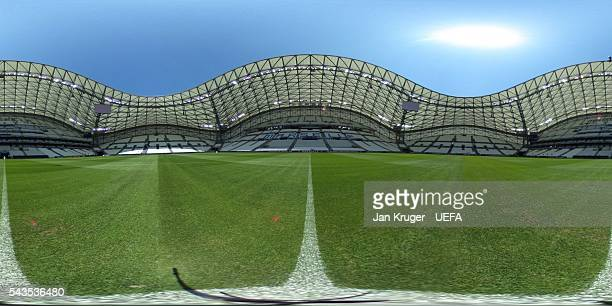 A general view at Stade Velodrome on June 8 2016 in Marseille France