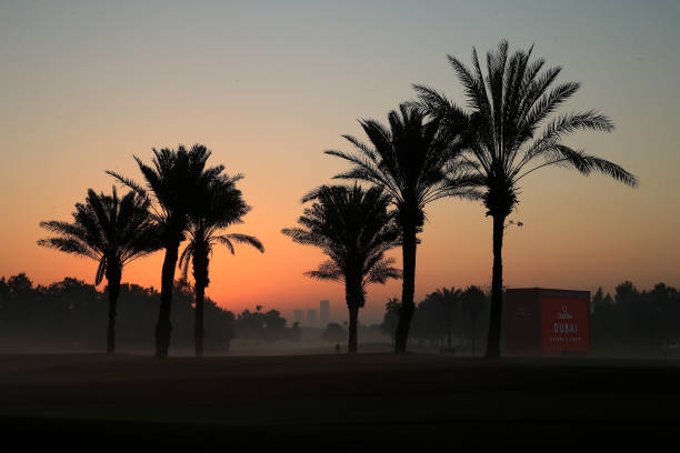 ARE: Omega Dubai Desert Classic - Day One