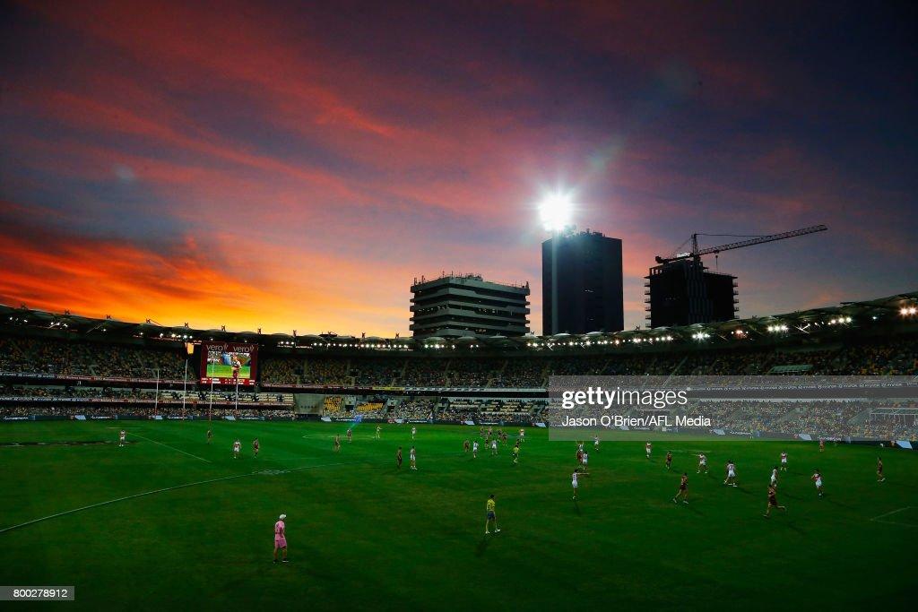 AFL Rd 14 - Brisbane v GWS : News Photo