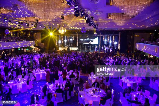 General view at the 117th Press Ball on January 13 2018 in Berlin Germany