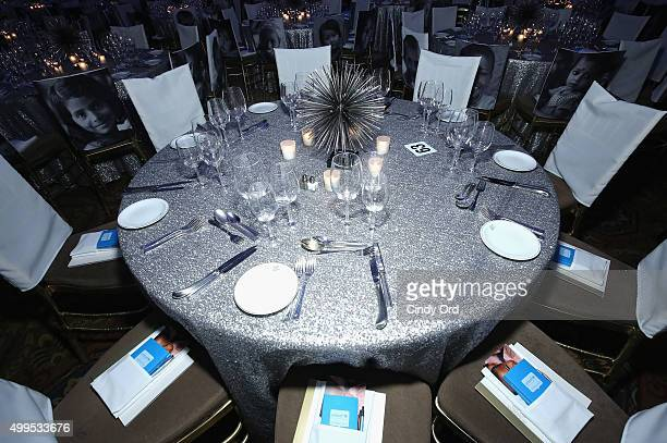 General view at the 11th Annual UNICEF Snowflake Ball Honoring Orlando Bloom Mindy Grossman And Edward G Lloyd at Cipriani Wall Street on December 1...