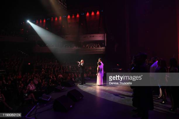 General view at the 6th anniversary of Mondays Dark With Mark Shunock at the Pearl Concert Theater at Palms Casino Resort on December 09, 2019 in Las...
