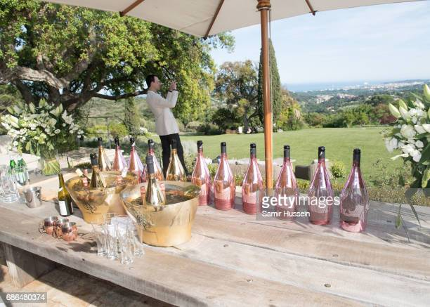 A general view at the 'Ace of Spades' and Three Six Zero Entertainment Cannes Film Festival Celebration with Champagne Armand de Brignac at Les Hauts...