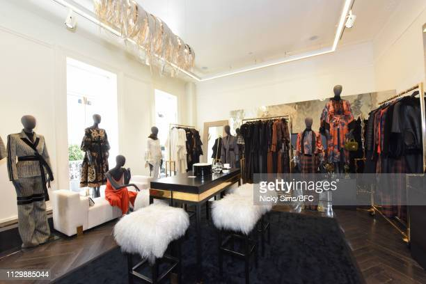 A general view at the Amanda Wakeley Presentation during London Fashion Week February 2019 on February 15 2019 in London England