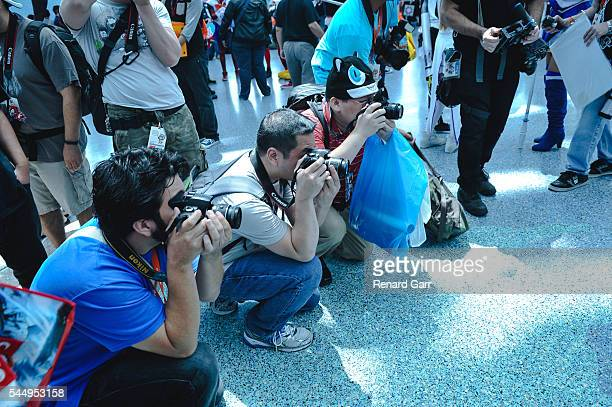 A general view at the Anime Expo at Los Angeles Convention Center on July 4 2016 in Los Angeles California
