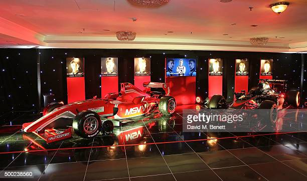 A general view at the Autosport Awards drinks reception at The Grosvenor House Hotel on December 6 2015 in London England