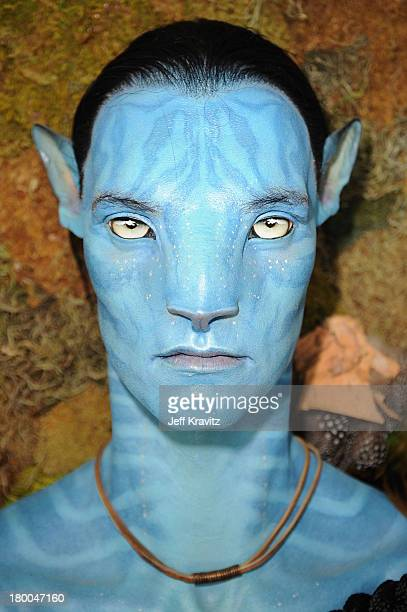 A general view at the 'Avatar' Global Media Day in celebration of the April 22nd Earth Day Bluray Disc and DVD release at an ecofriendly residence on...