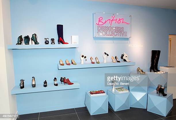 A general view at the British Designers Collective at Bicester Village on May 21 2014 in Bicester England