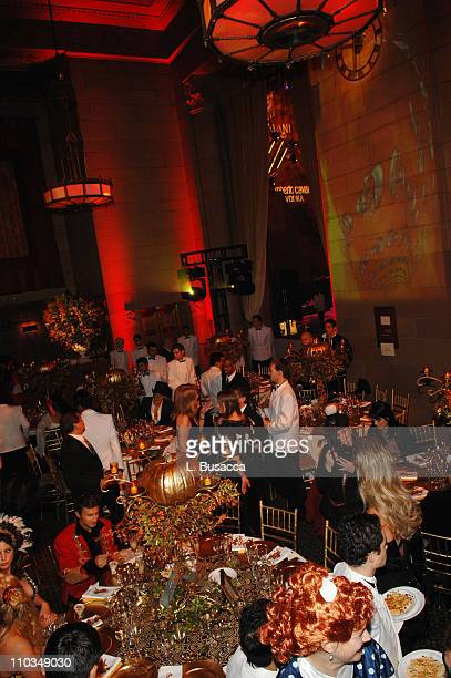 general view at the cavalli cipriani halloween ball 2007 hosted by roberto cavalli and giuseppe cipriani