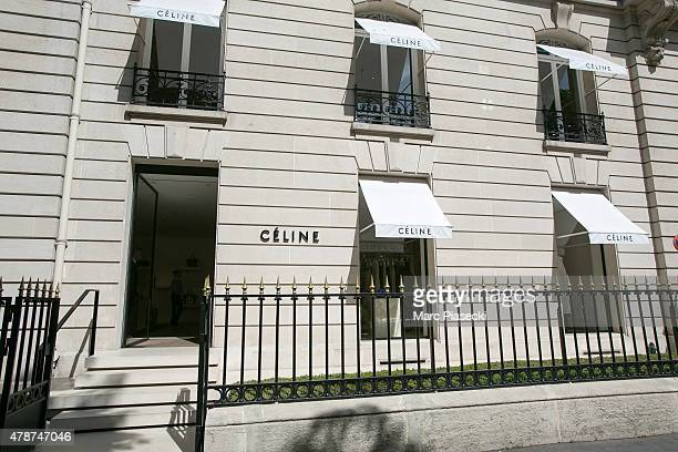 A general view at the  Celine  store on Avenue Montaigne store on June 27 31172fb9da3