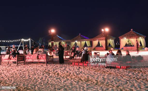 A general view at the Closing Night event on day six of Qumra the fourth edition of the industry event by the Doha Film Institute dedicated to the...