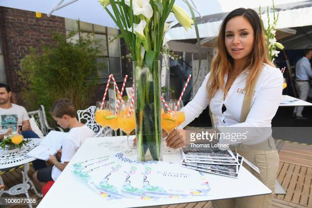 A general view at the Cybex Influencer Brunch during Platform Fashion July 2018 at Areal Boehler on July 22 2018 in Duesseldorf Germany
