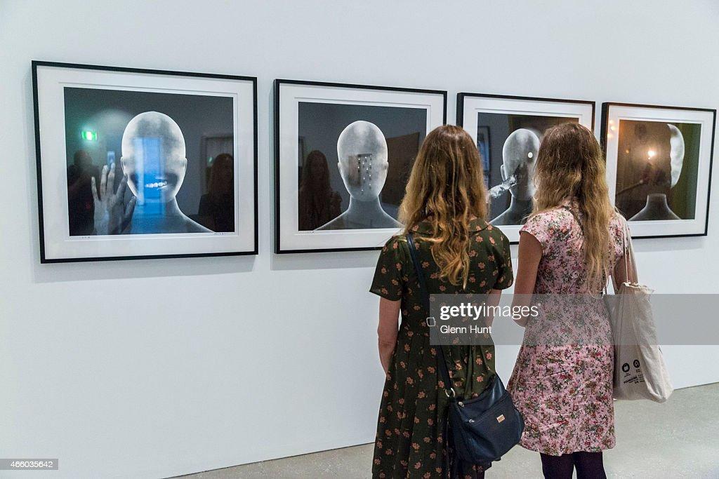 "Gallery Of Modern Art Exhibits David Lynch Retrospective ""Between Two World"" : News Photo"