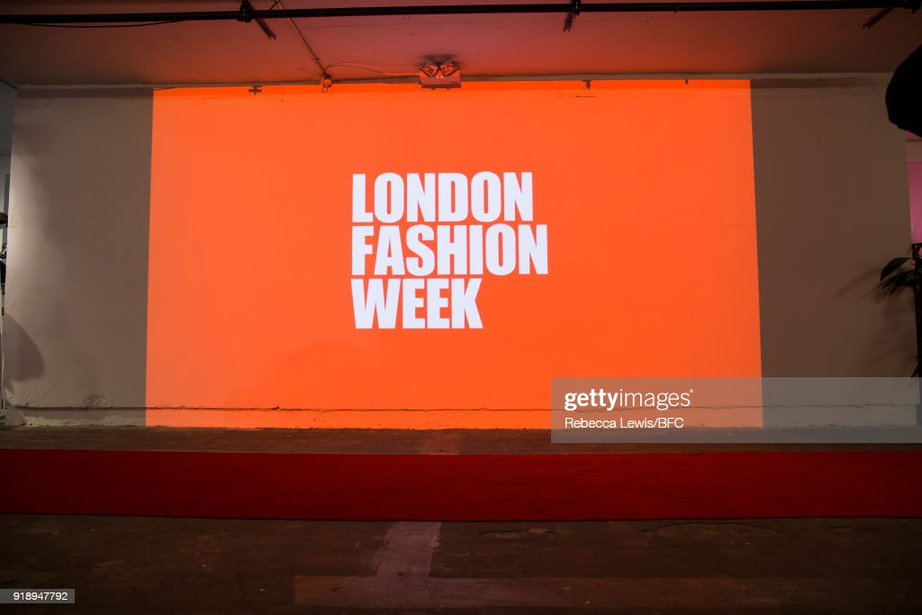 A general view at the Designer Showrooms during London Fashion Week February 2018 on February 16, 2018 in London, England.