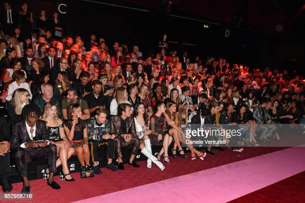 A general view at the Dolce Gabbana show during Milan Fashion Week Spring/Summer 2018 on September 24 2017 in Milan Italy