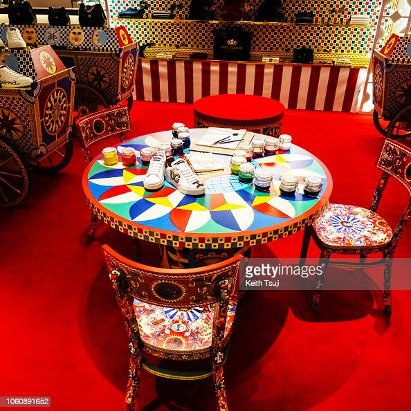caaf0f3c34b General view at the DOLCE&GABBANA Pop-up Store in the Ginza Six on... News  Photo   Getty Images