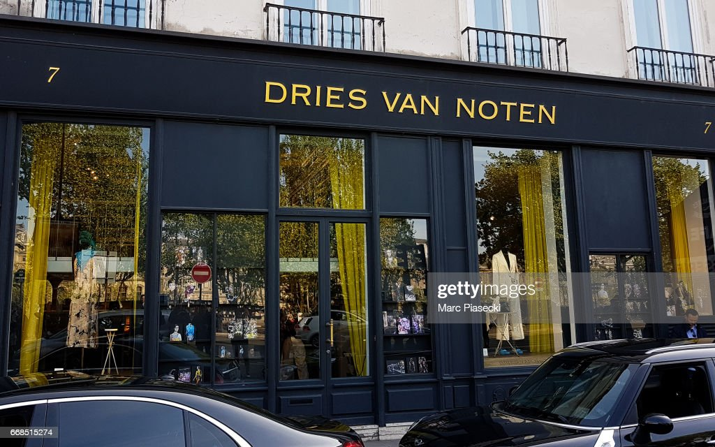 30bc007330 A general view at the  Dries Van Noten  store on April 14