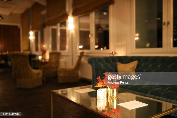 A general view at the Drinks Reception of the Netflix film The Boy Who Harnessed The Wind during the 69th Berlinale International Film Festival...