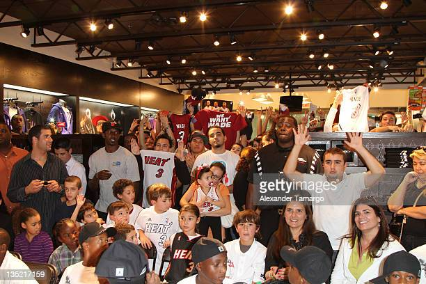 competitive price d9f4c 4116d General view at the Dwyane Wade Jordan Fly Wade 2 release at House of Hoops  at