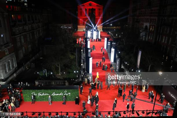 A general view at The Fashion Awards 2019 held at Royal Albert Hall on December 02 2019 in London England