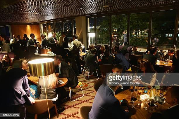 A general view at the 'Film Musik Wettbewerb' Dinner during Day 7 of Zurich Film Festival 2014 on October 1 2014 in Zurich Switzerland
